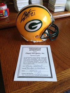 Charles Woodson Signed Mini Helmet Heisman Green Bay Packers COA