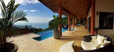 Newly+Built+Eco-Home+At+One+with+Nature+++Vacation Rental in Central Valley - San Jose from Colonia House, Beautiful Ocean, Beautiful Homes, Curve Of The Earth, Costa Rica Property, Ocean View Villas, Beach Properties, Central Valley, One With Nature