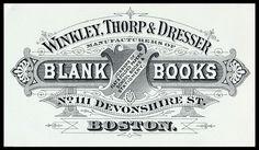 Winkley, Thorp & Dresser | Sheaff : ephemera