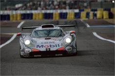 Porsche's new Le Mans car.  (LMP1)