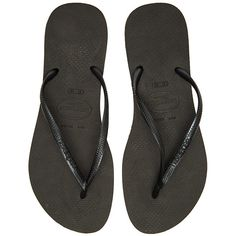 ab92b57dc5755 Flip Flops · Havaianas Slim Flip Flop Shoes ( 26) ❤ liked on Polyvore  featuring shoes