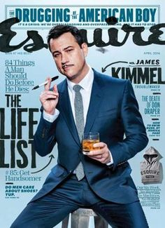 Esquire - April 2014 #magazines #JimmyKimmel #Esquire