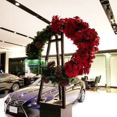 Christmas Wreaths, Christmas Tree, Window, Display, Holiday Decor, Home Decor, Teal Christmas Tree, Floor Space, Decoration Home