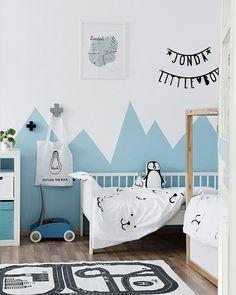 New blue in kidsroom