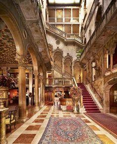 Palazzo Dandolo,  hall at hotel Danieli, Venice