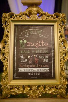 Barra libre de cócteles para conquistar a todos los asistentes del Gran Día.    #Matrimoniocompe #Organizaciondebodas #Matrimonio #Novios #TipsNupciales #CaminoAlAltar #MatriPeru #BodaPeru #BarraDeBebidas #CoctelesDeBoda #WeddingDrinks Martinis, Cocktails, Pisco Sour, Mojito, Art Quotes, Frame, Mariage, Sweet Recipes, Meals