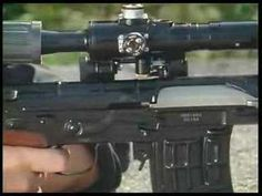 VIDEO ....DRAGUNOV  ( SVD )7.62 X 54R