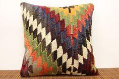 16 x 16 Vintage kilim pillow cover Decorative by kilimwarehouse, $45.00