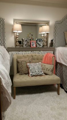 Dorm Rooms Can Be Classy!