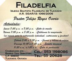 Iglesia Cristiana en Tlaxiaco.