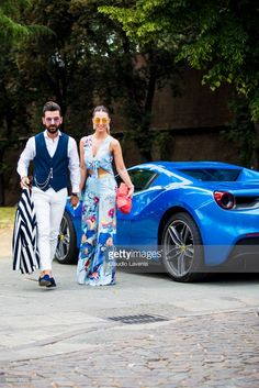 Melik Kan and Bugse Kam are seen during Pitti Immagine Uomo 92. at Fortezza Da Basso on June 14, 2017 in Florence, Italy.