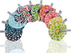 """My new 2012 Spring/Summer Le bibble baby bottle bib """"Le happy days"""" collection!"""