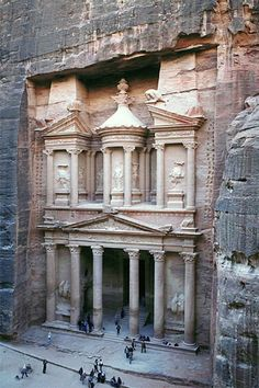 Petra.  One of the coolest sites I've seen.