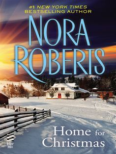 "Read ""Home For Christmas (Novella)"" by Nora Roberts available from Rakuten Kobo. New York Times bestselling author Nora Roberts captures the spirit of the holidays in this heartwarming novella. I Love Books, Books To Read, My Books, Christmas Books, Christmas Home, Hallmark Christmas, Merry Christmas, Nora Roberts Books, I Love Reading"