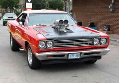 69 Roadrunner with a 440 ci