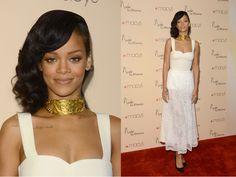 Hot Or Not? Rihanna's Giant Gold Choker. http://buzznet.com/~65a9daa