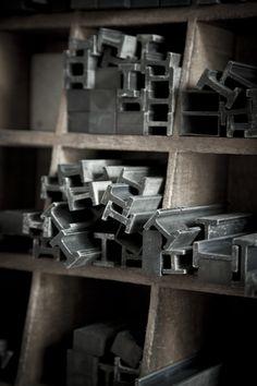 Letterpress furniture