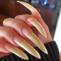 Long Natural Nails, Long Nails, Curved Nails, Banana, Fruit, Beautiful, Instagram, Bananas, Fanny Pack