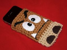 Goomba Phone Case iPhone3G/3GS/4G by perfectfitcrochet on Etsy, $15.00