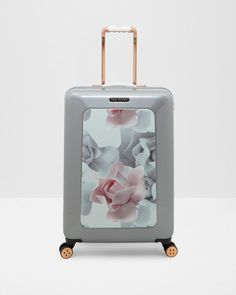 Porcelain Rose medium suitcase - Pink | Bags | Ted Baker ROW