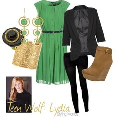 "teen wolf wardrobe | Teen Wolf: Lydia"" by stylingmonica on Polyvore 