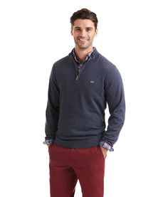 8144e3ac537d15 Embrace the full line of pullovers, quarter zip sweaters for men from  vineyard vines, and create endless style combinations for your preppy  wardrobe.