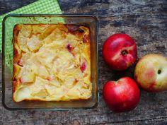 Nectarines ou brugnons, n'hésitez pas à cuisiner cette recette de clafoutis !