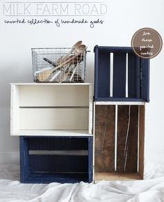 This is a really cute and cheap DIY for college storage. These can perfectly fit under your bed, yet still look cute while being functional.