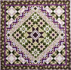 McCall's Quilting University is hosting the Glorieta Quilt Along featuring our Ribbon Floral collection, and you can join in right now! This 12-week quilt along is hosted by contributing editor Laura Stone Roberts, and in addition to the pattern, you'll find video lessons to help you along.