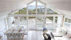 Aurora, House Floor Plans, Cabin, Windows, Flooring, Scandinavian, Home, Summer, Modern