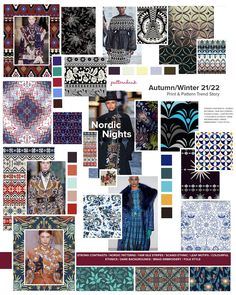 Fashion Themes, Fashion Prints, Christmas Trends, Fashion Forecasting, Winter Trends, Textiles, Color Trends, Pattern Fashion, Pattern Design