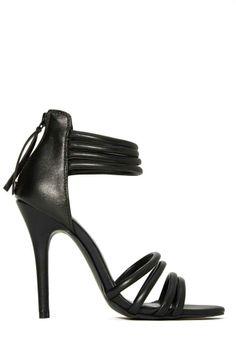 Shoe Cult Perception Heel - Black