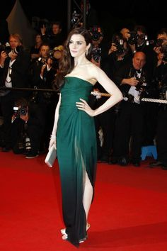 The absolute best of Cannes red carpet fashion: Rachel Weisz in Valentino in 2009.