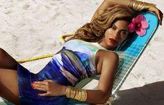 #Beyonce #Queenbey #Swimsuit #Summer
