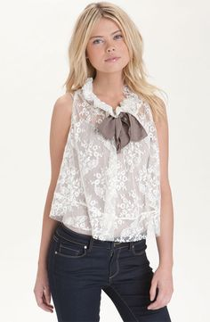 Cute top for a warm Southwestern spring.