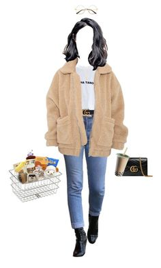 """Set 862 -"" by xjulie99 ❤ liked on Polyvore featuring Gucci, Gorjana, Tony Moly and INC International Concepts"