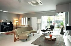 House Tour: Neutral colour palette in this terrace house with cool ambience