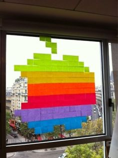 making office life better, one post-it at a time. postitwar via npr via automatism.