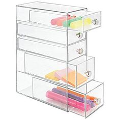 Office & School Supplies Pen Holders Special Section Plastic Pen Holder Brush Pot Office Stick On Desktop Makeup Storage Pencil Box Desk Organizer Stationery Factories And Mines