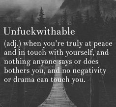 Yaaass! I live in PEACE! I don't allow drama to sit down at my table. ..not my monkeys. ..not my circus. ..not my clowns. Be gone.