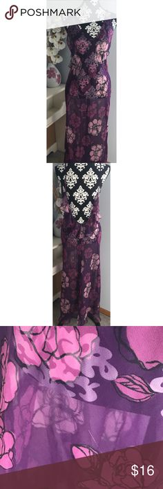 Frederick's of Hollywood Long Chemise Size Medium. Sheer. Slight  snag but not noticeable. Frederick's of Hollywood Intimates & Sleepwear Chemises & Slips
