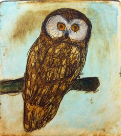 Original etching by Maarit Kontiainen Illustration Art, Illustrations, Owl, Bird, Gallery, Drawings, Graphics, Animals, Painting