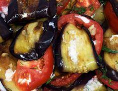 Zaalouk-salaatti - marokkolainen munakoiso-tomaattisalaatti, resepti – Ruoka.fi