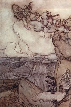 1904 - 1905 Rip Van Winkle. ART & ARTISTS: Arthur Rackham – part 1
