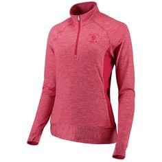 on sale 4a115 cdd6c Womens 2018 U.S. Open adidas Pink Rangewear Half-Zip Pullover Jacket