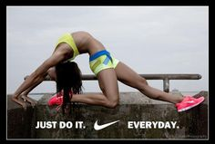 just do it. everyday.