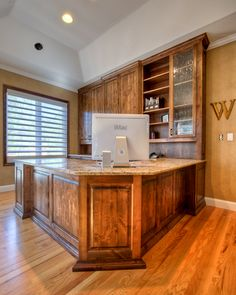 Custom Bookshelf Built By Adams Fine Furniture In Denver
