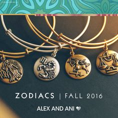 Alex and Ani Fall 2016 Zodiac Sign