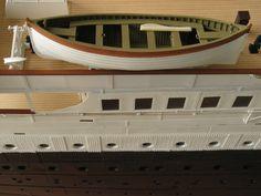 Titanic model 1/144 Davies Garner