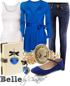 """Belle"" by disneybychantelle on Polyvore"